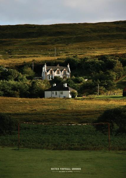 Isle of Skye (Wandbild) United Football Grounds