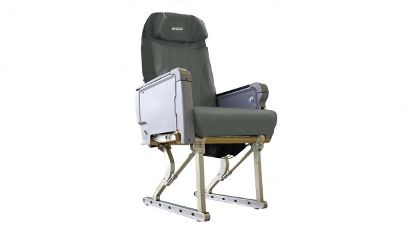 Aviation Originals Single Seat with new cover (grey)
