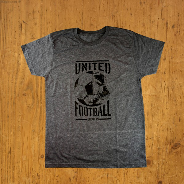 United Football Grounds T-Shirt (Asphaltgrau)