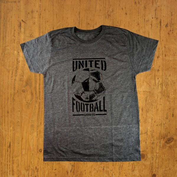 United Football Grounds T-Shirt (Asphaltgrau)