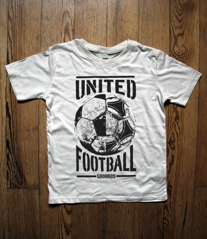 United Football Grounds Kids T-Shirt