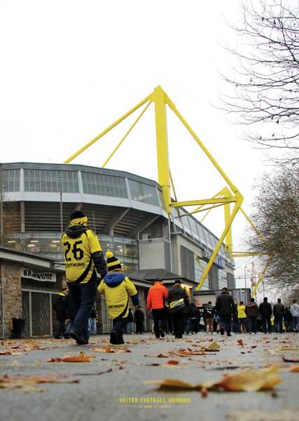BVB Vater und Sohn (Wandbild) United Football Grounds