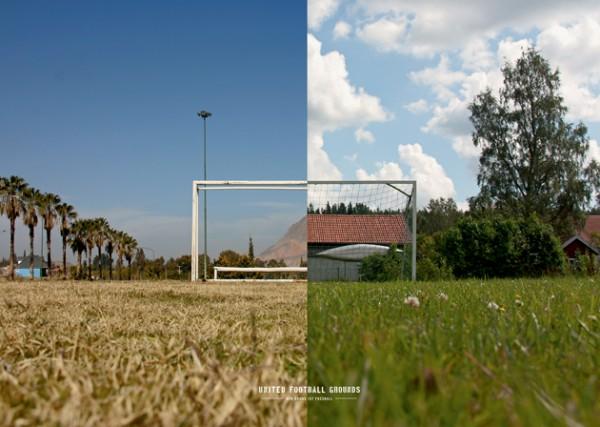 Argentina - Sverige (Wandbild) United Football Gounds