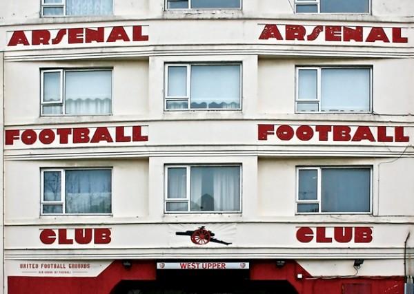 Arsenal (Wandbild) United Football Grounds