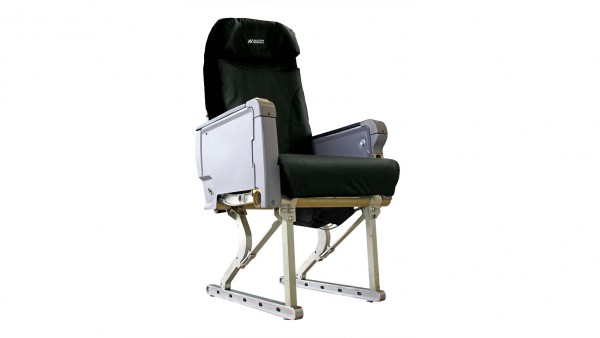 Aviation Originals Single Seat with new cover (black)