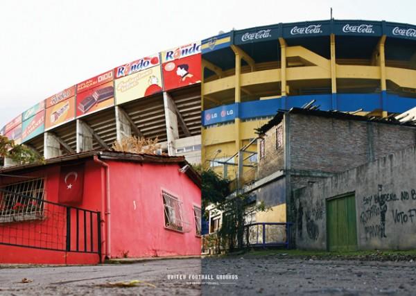 Galatasaray - Boca (Wandbild) United Football Grounds