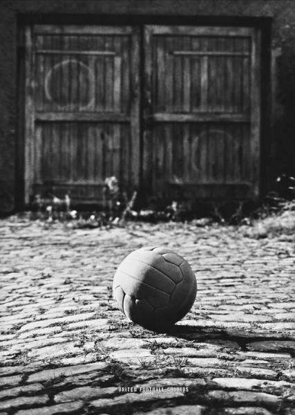 Old School (Wandbild) United Football Grounds