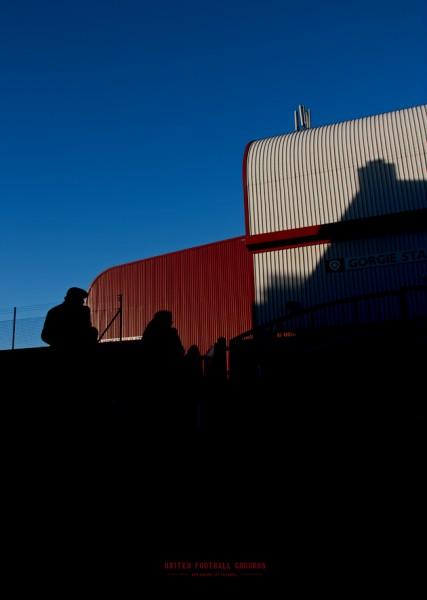 Hearts (Wandbild) United Football Grounds