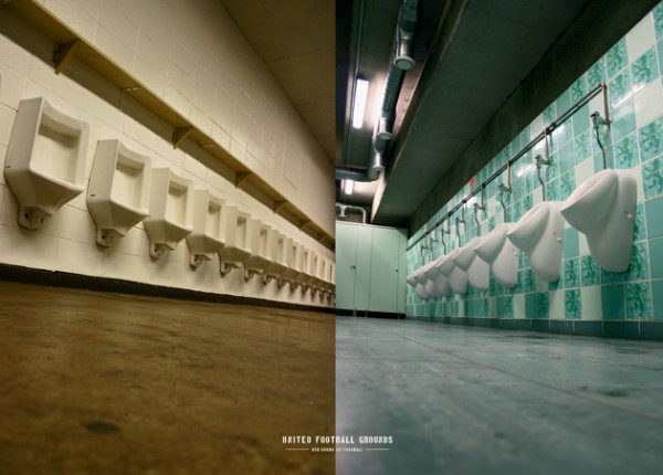 New York - Lisboa (Wandbild) United Football Grounds